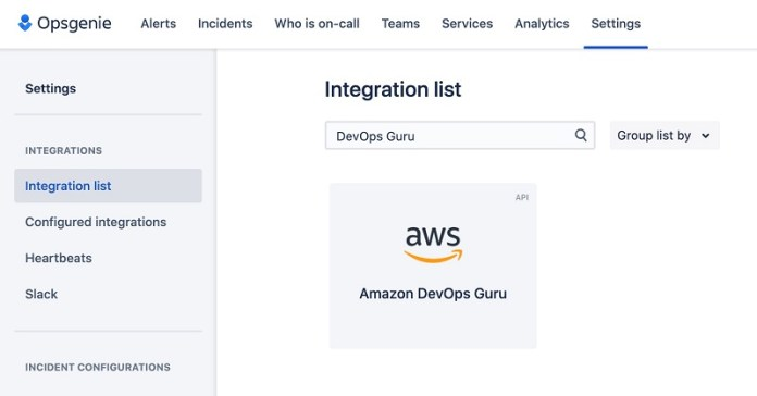delivering operational insights directly to your on call team by integrating amazon devops guru with atlassian opsgenie 1 hyperedge embed image