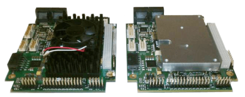 Heat sink and heat spreader in PCB