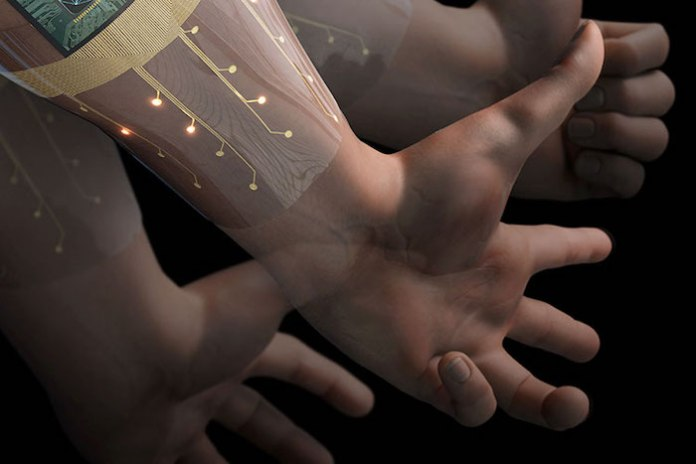 Wearable sensors with integrated AI for prosthetic control