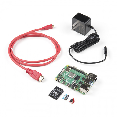 SparkFun Raspberry Pi 4 Basic Kit - 8GB