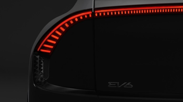 kias electric vehicle plans take shape with ev6 teaser new naming strategy 1 hyperedge embed image