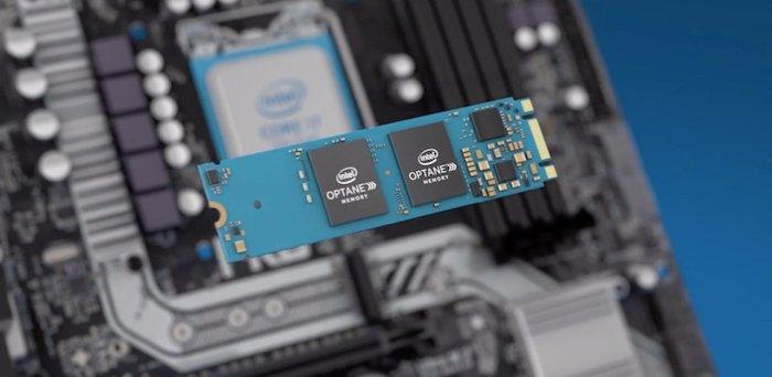 Intel Optane memory board