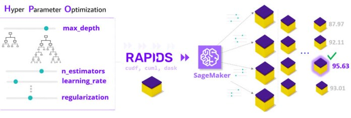 rapids and amazon sagemaker scale up and scale out to tackle ml challenges hyperedge embed image