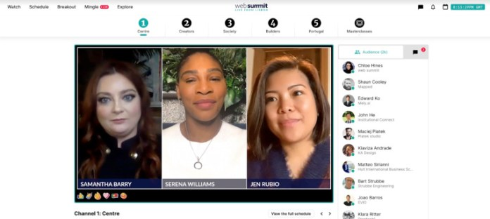 sources web summit will spin out its virtual conference software as a full blown startup hyperedge embed image