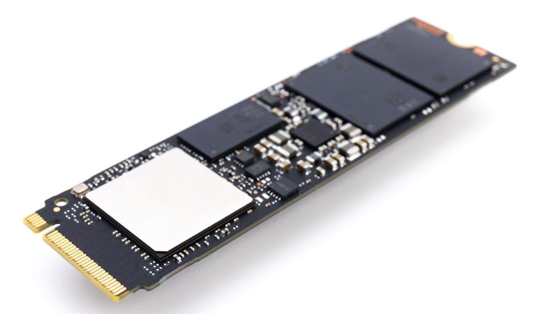 SSD hard drive NVMe version for M2 slot