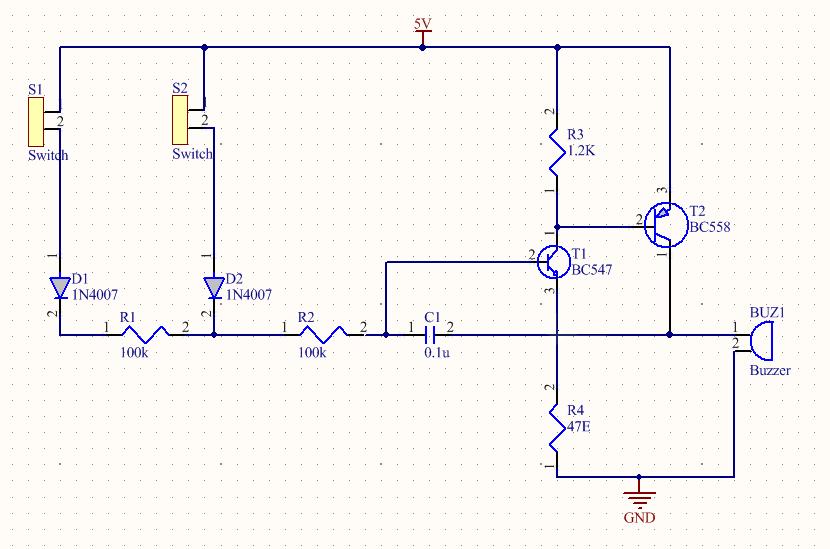 PCB schematic diagram
