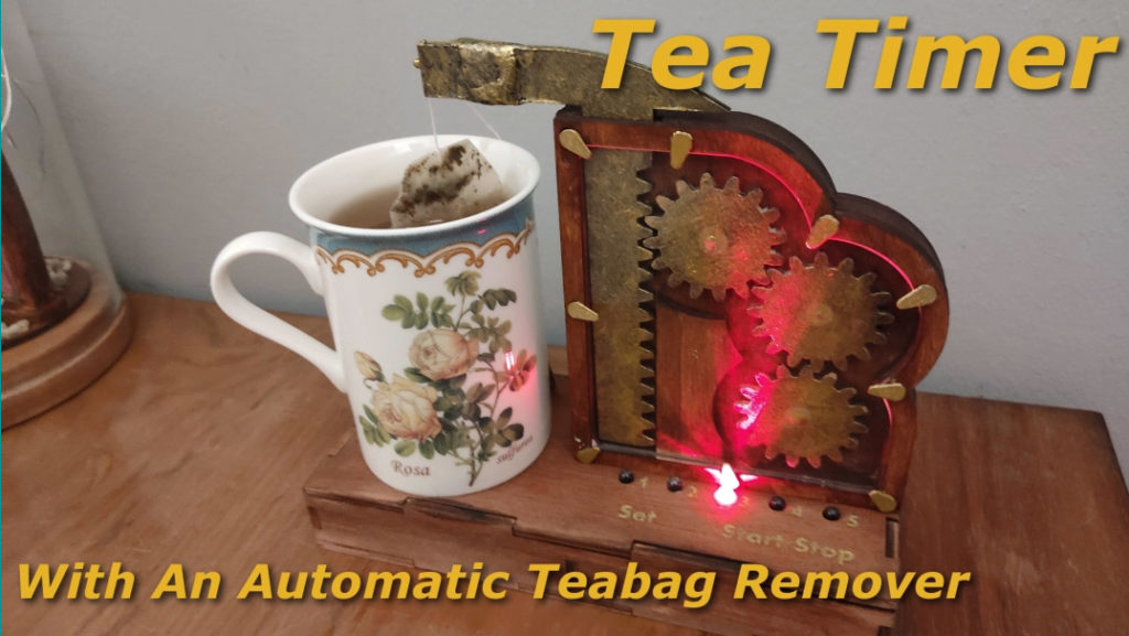 Steampunk Tea Timer Arduino Project