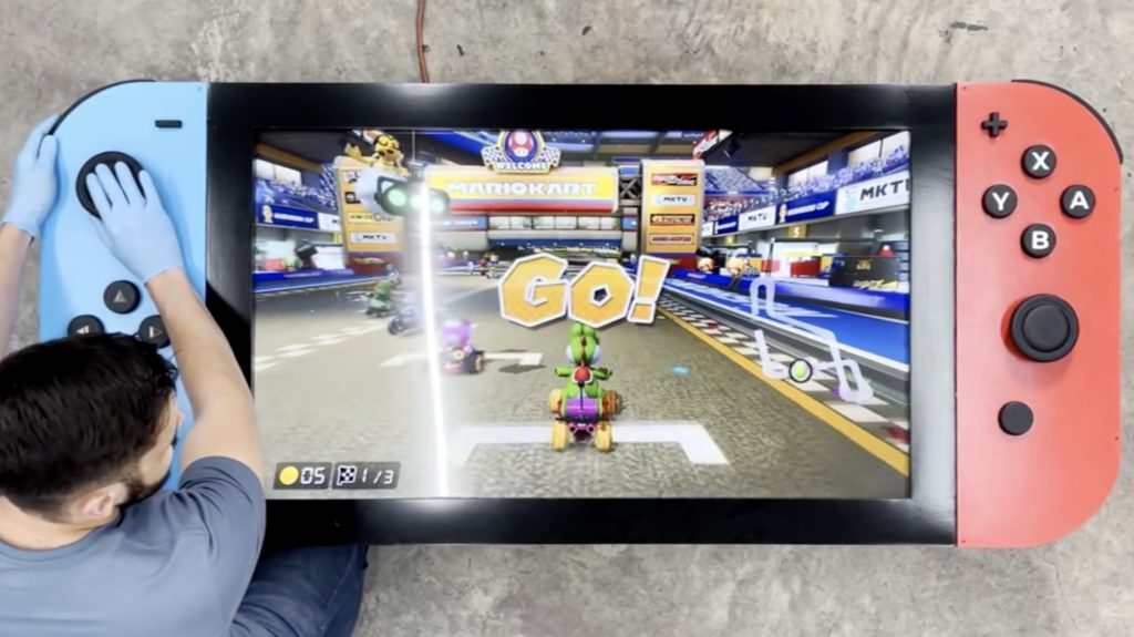 arduino helps control the worlds largest nintendo switch hyperedge embed image