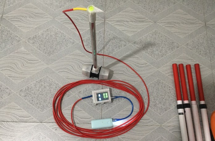 building a low cost flow meter for river studies 1 hyperedge embed image