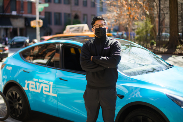 revel launches an all electric rideshare service with a fleet of 50 teslas hyperedge embed image