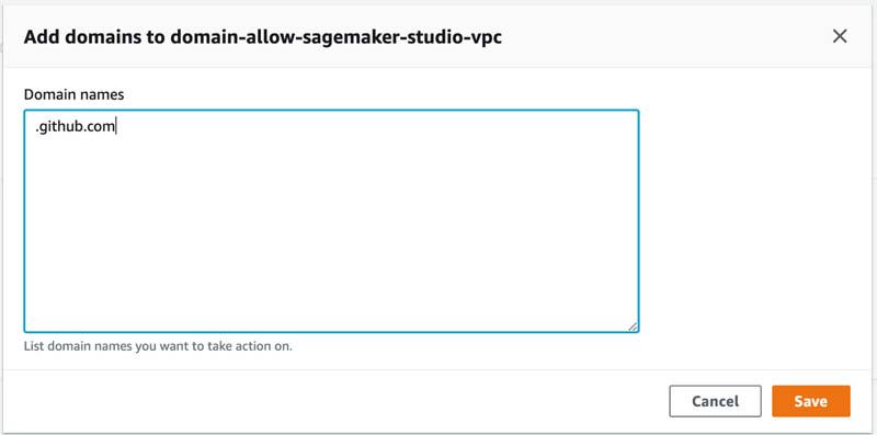 securing amazon sagemaker studio internet traffic using aws network firewall 11 hyperedge embed
