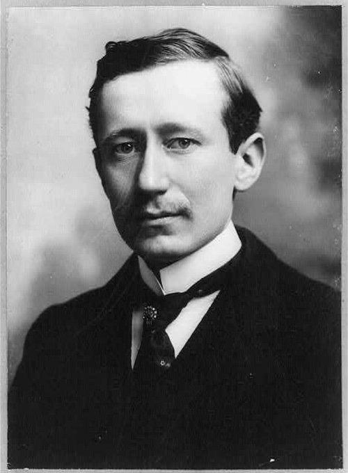 Portrait of Guglielmo Marconi.