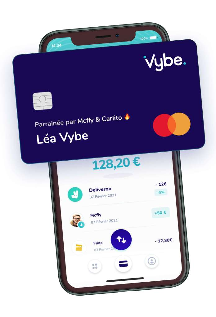 vybe raises 2 9 million for its challenger bank for teens hyperedge embed image