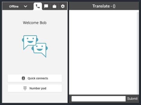 implement live customer service chat with two way translation using amazon connect and amazon translate 1 hyperedge embed image