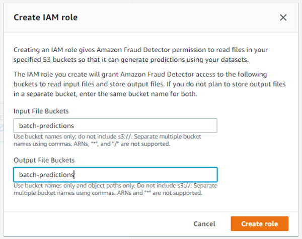 perform batch fraud predictions with amazon fraud detector without writing code or integrating an api 3 hyperedge embed image