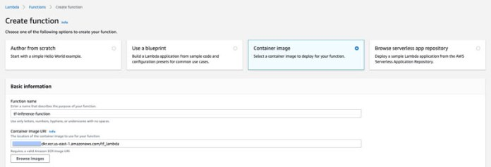build reusable serverless inference functions for your amazon sagemaker models using aws lambda layers and containers 7 hyperedge embed image