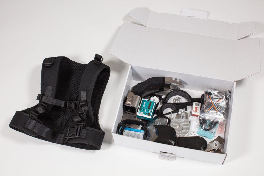 eduexo pro is an arduino controlled robotic exoskeleton kit thats now on kickstarter 2 hyperedge embed