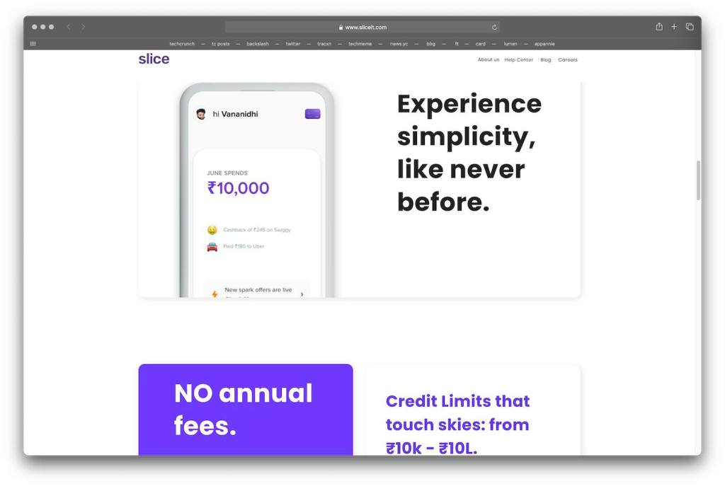 slice raises 20 million to go after the credit card industry in india 1 hyperedge embed