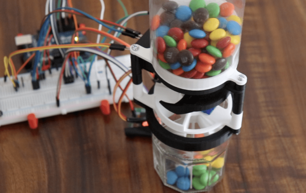 this arduino device will sort your mms by color hyperedge embed image