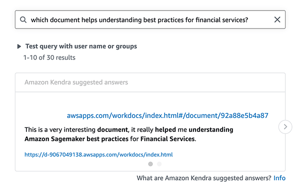 get started with the amazon kendra amazon workdocs connector 2 hyperedge embed