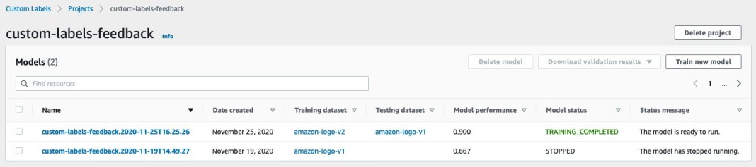 simplify data annotation and model training tasks with amazon rekognition custom labels 16 hyperedge embed image