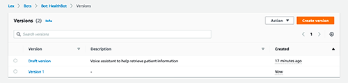 simplify patient care with a custom voice assistant using amazon lex v2 9 hyperedge embed
