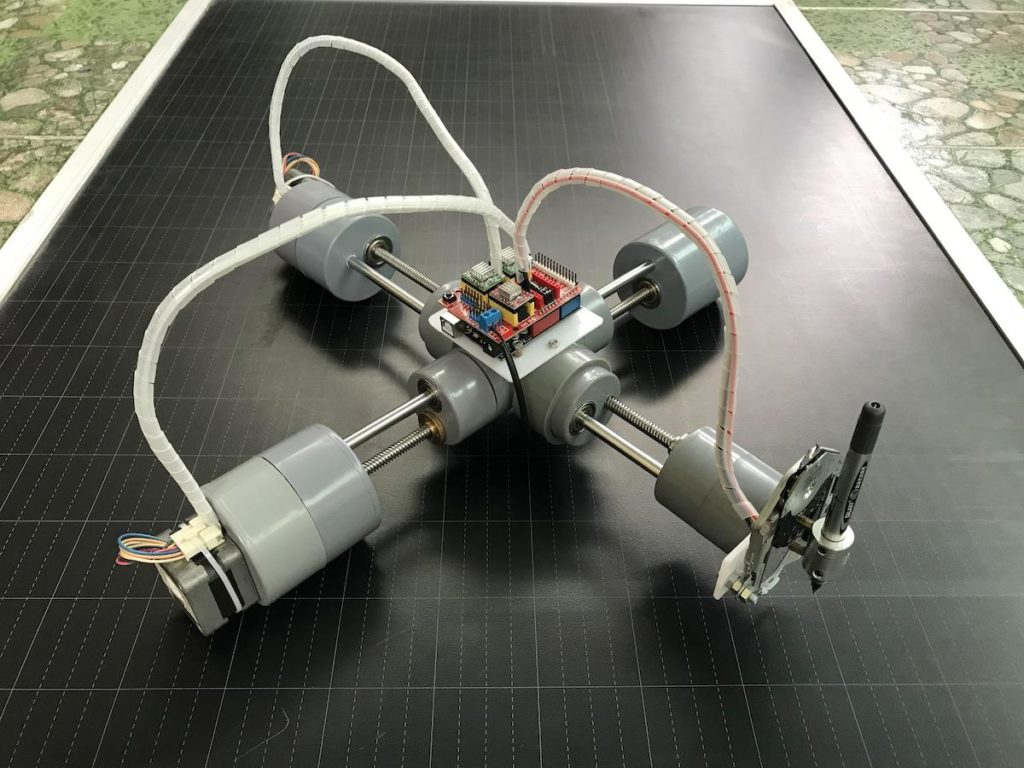 the p cnc plotter is a diy drawing machine disguised as a quadruped robot 1 hyperedge embed