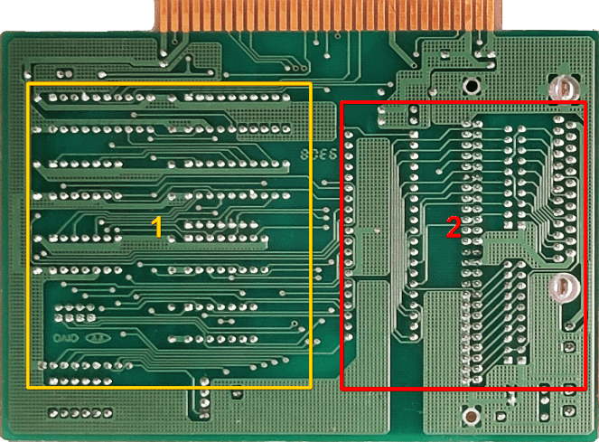 Defective Layout for Wave Soldering