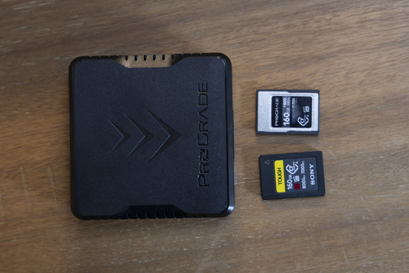 prograde versus sony cfexpress type a cards is there a difference 4 hyperedge embed