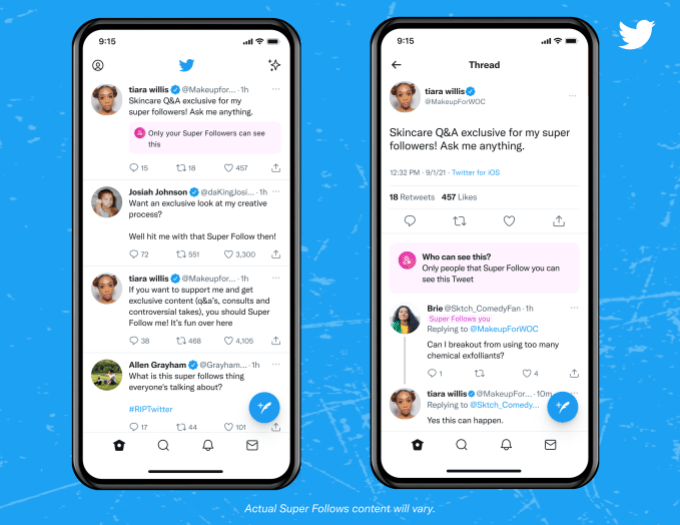 twitter super follows has generated only around 6k in its first two weeks 1 hyperedge embed