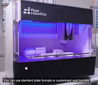 Robots being used in medical labs