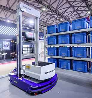 Mobile robot being used in warehouses