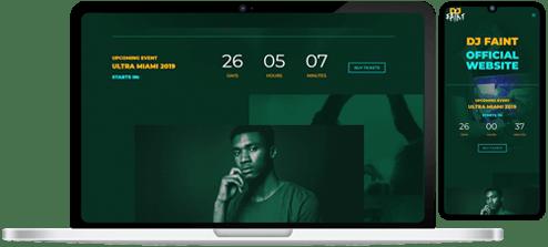 Entertainment Business Website