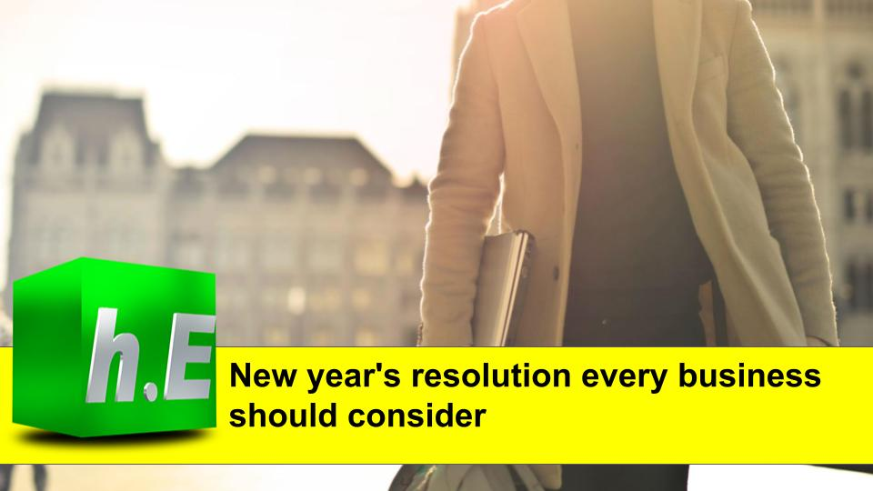 New year's resolution every business should consider