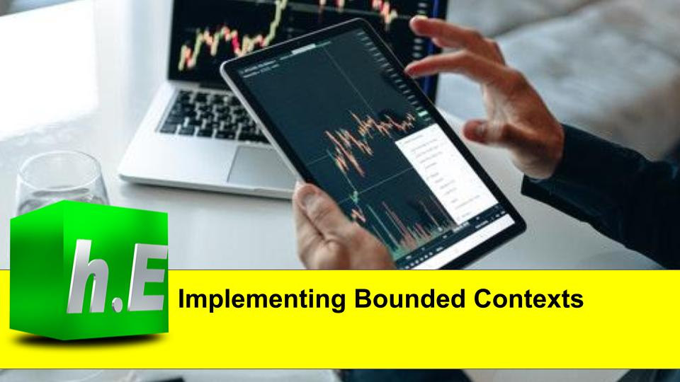 Implementing Bounded Contexts