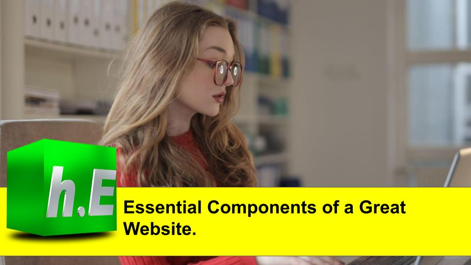 Essential Components of a Great Website.
