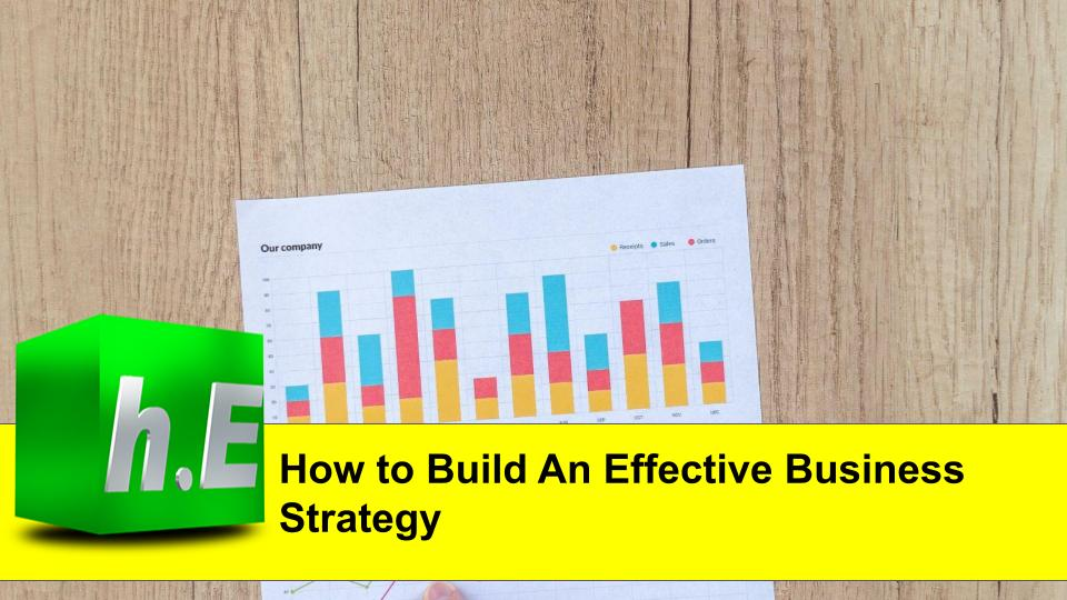 How to Build An Effective Business Strategy