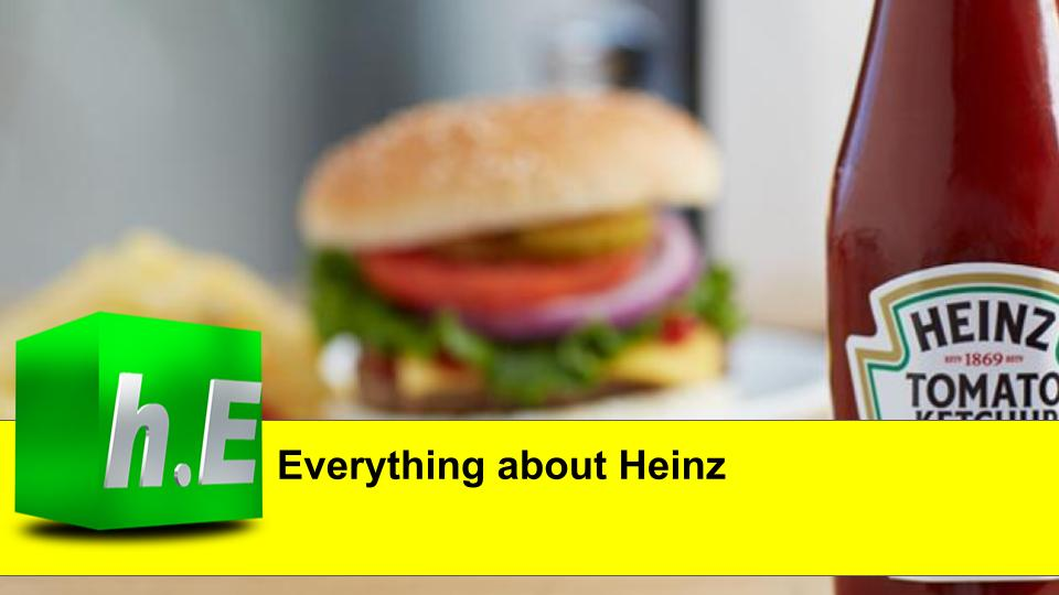 Everything about Heinz