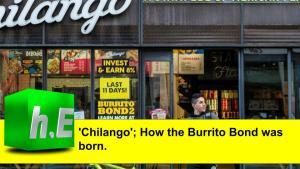 'Chilango'; How the Burrito Bond was born.