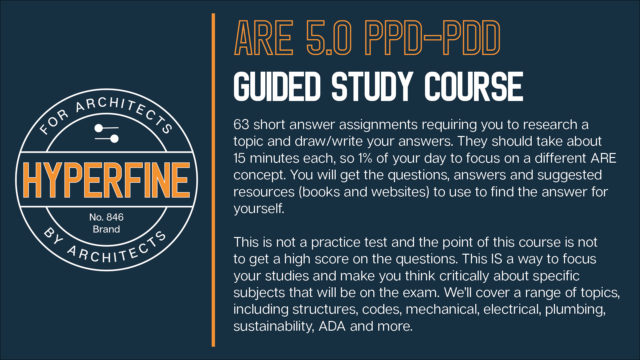 ARE 5.0 PPD and PDD Study Course
