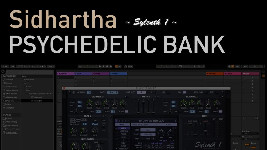 Sidhartha Sylenth1 Psychedelic Bank