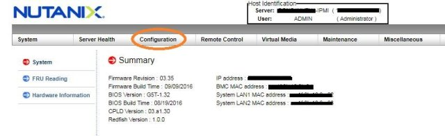 change Nutanix ipmi password