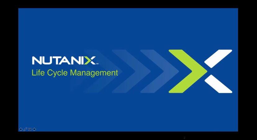 nutanix lcm firmware upgrade