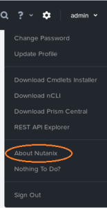 Check Nutanix License status
