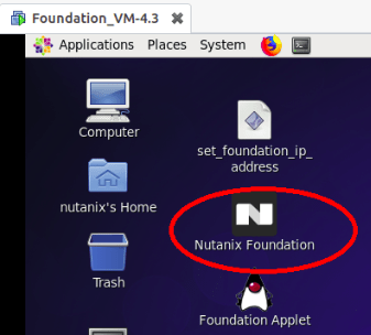 Nutanix foundation VM