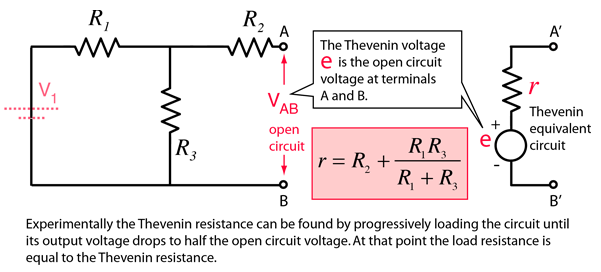 resistor circuit diagram 1987 delco radio wiring thevenin s theorem the same resistance is used in norton equivalent