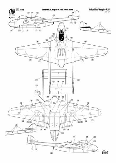 De Havilland Vampire FB.30 and FB.31 in RAAF Service