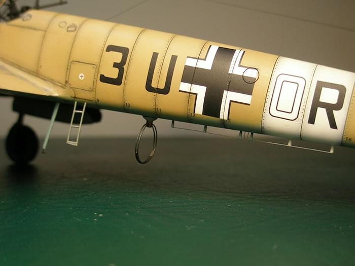 Eduard 148 scale Messerschmitt Bf 110 E2Trop by Stan Traas