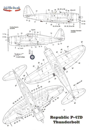 Supermarine Spitfire Parts 3 & 4 Decal Review by Mark