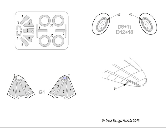 Dead Design Models 1/72 and 1/48 Review by Brett Green